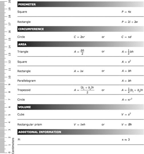 6th Grade Star Chart Math - The Chart